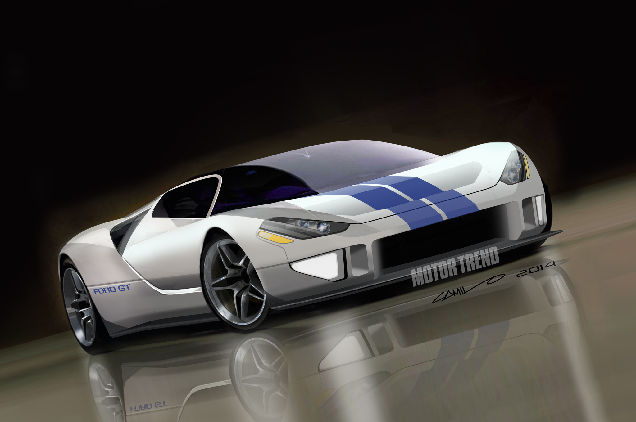 Future Ford Gt Is Becoming A Reality Viper Alley Dodge Viper Forum Srt Viper