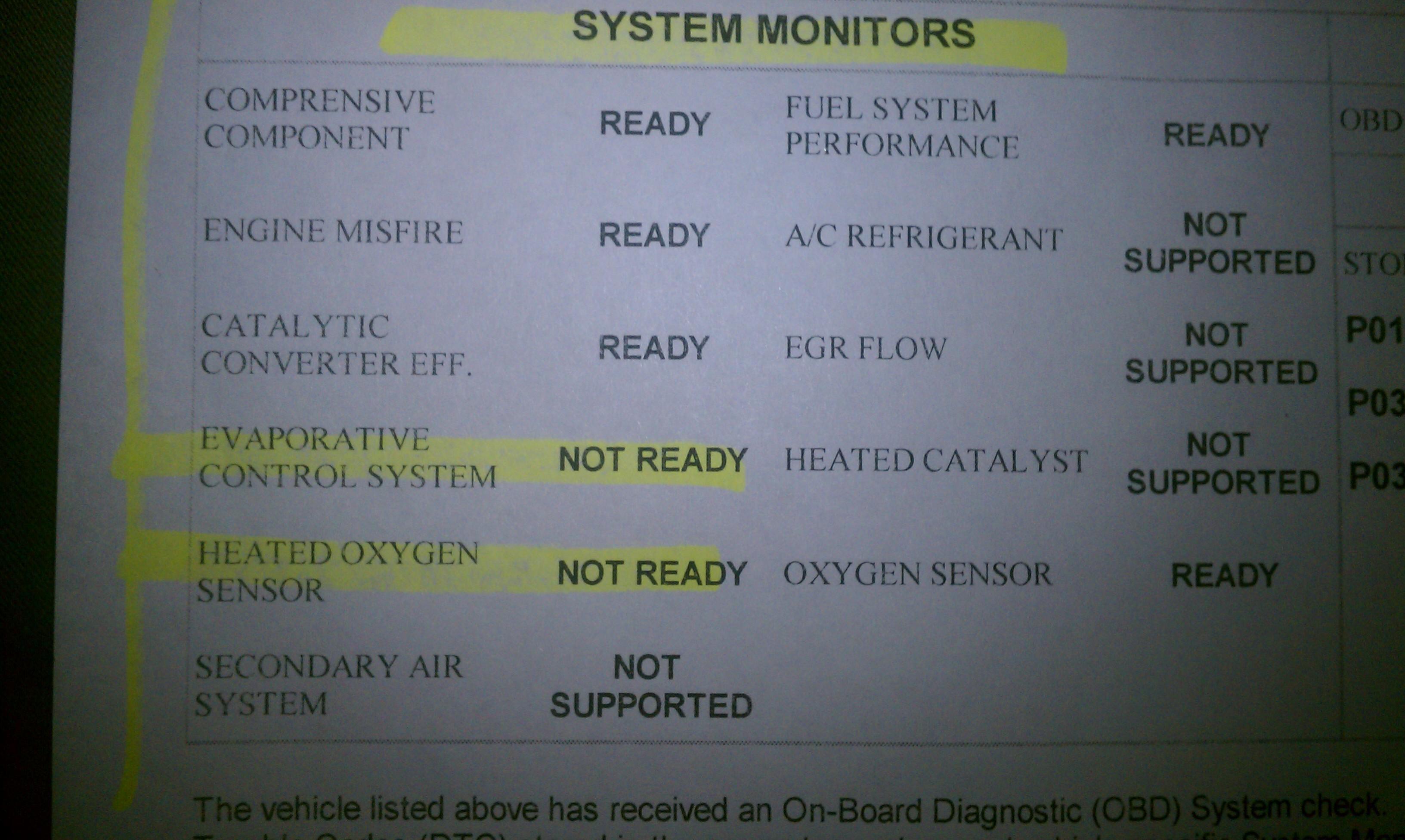 Emissions readiness - Page 2 - Viper Alley - Dodge Viper Forum -SRT